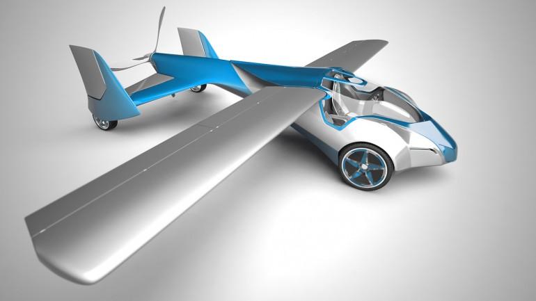 Первый запуск прототипа летающего автомобиля от Стефана Клейна