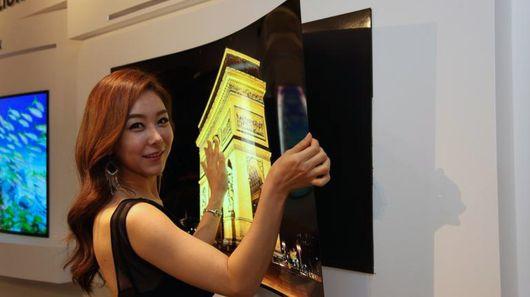 LG OLED-дисплей самый тонкий в мире