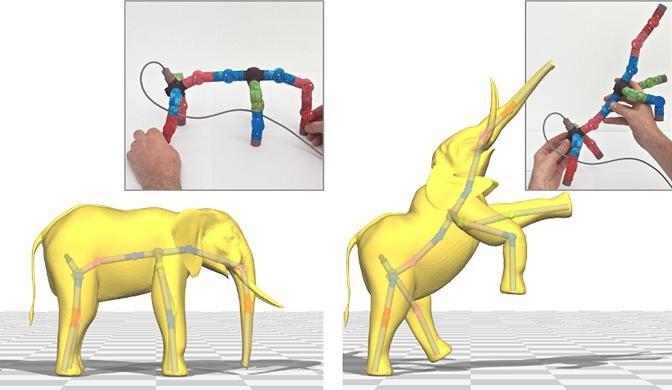 3d Джойстик для анимации персонажей