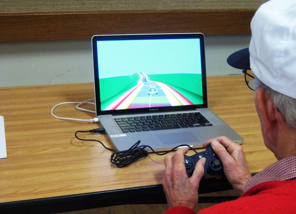 Нейро рейсер: видео игра для людей преклонного возраста