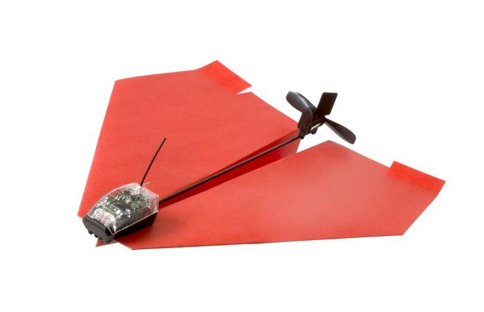 Электрический бумажный самолетик получает, помимо улучшений, краудфандинговое финансирование
