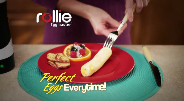Rollie® Eggmaster - устройство для приготовления яичных рулетов