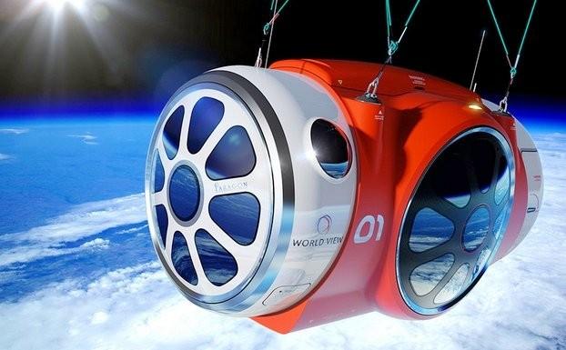 Полеты на воздушном шаре в ближний космос от компании World View Enterprises