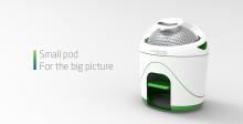 Инновационная стиральная машина с ручным приводом.