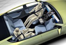 Концепт Rinspeed's XchangE - роскошный электрический автомобиль.