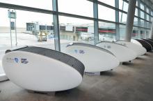 Международный аэропорт Абу Даби позволяет путешественникам отдохнуть в коконе