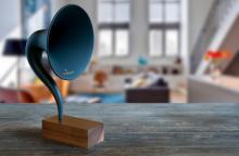 Bluetooth граммофон стиля 1920-х объединяет старое и новое
