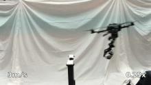 Маленький беспилотный летальный аппарат, с агрессией хищной птицы.
