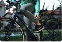 Flyfit - браслет фитнес-трекер на ногу