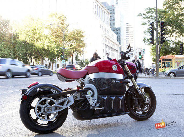 "Электро - мотоцикл ""SORA"""