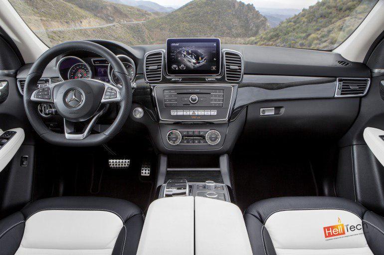 Mercedes GLE внедорожник с гибридной версией