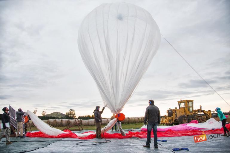 """""""Плавающие"""" в воздухе шары Google, для предоставления высокоскоростного интернета"""