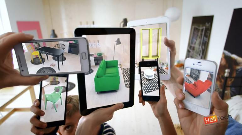 Каталог IKEA с технологией дополненной реальности