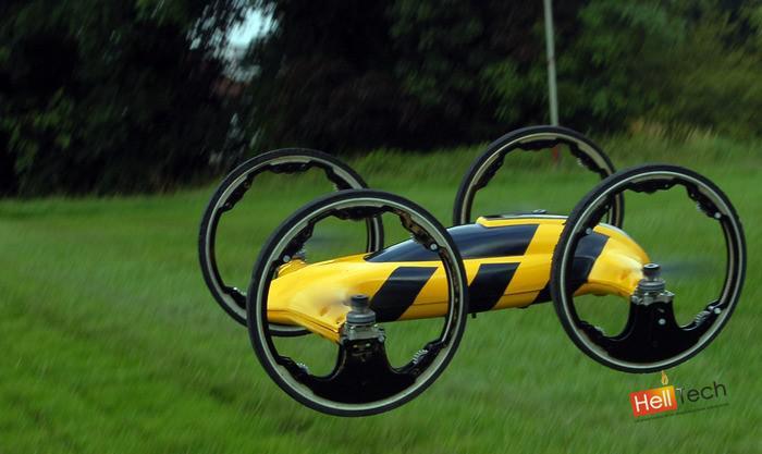Радиоуправляемый внедорожник превращающийся в вертолет
