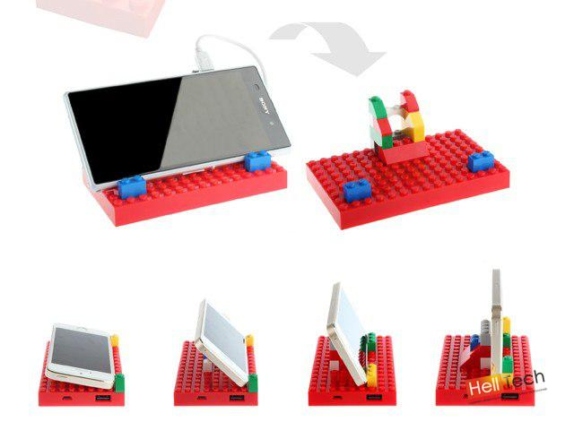 """Стенд зарядка - """"Lego"""" для телефона"""